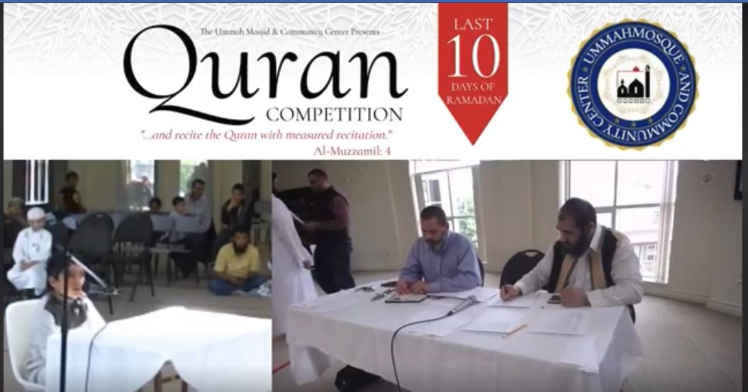 2019 04 27 Quran Competition