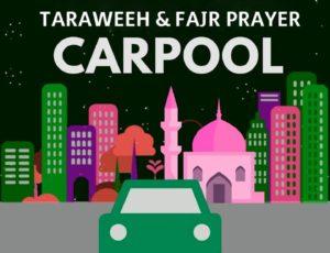 2019-05-05 Ramadan CarPool
