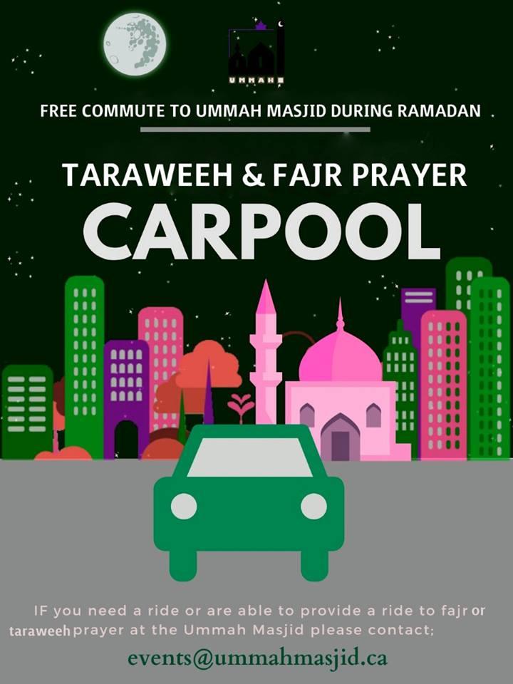 2019 05 05 Ramadan CarPool