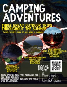 Copy of Camping Adventure Flyer